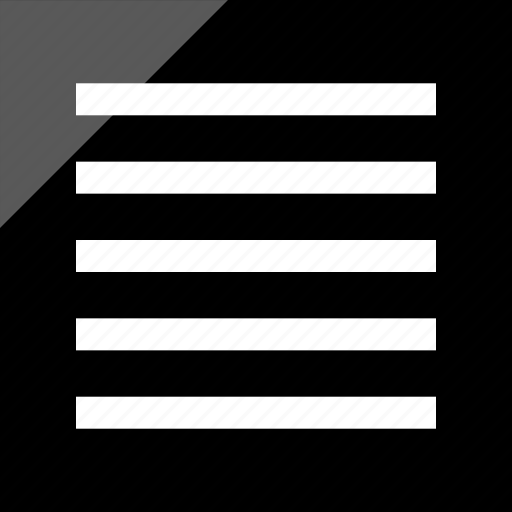 align, all, center, text icon