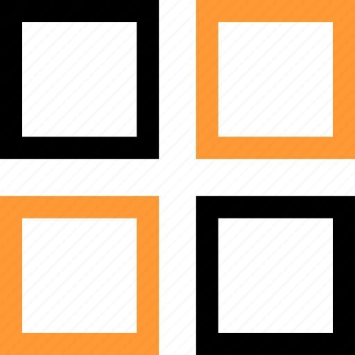 editor, frame, grid, pictures icon