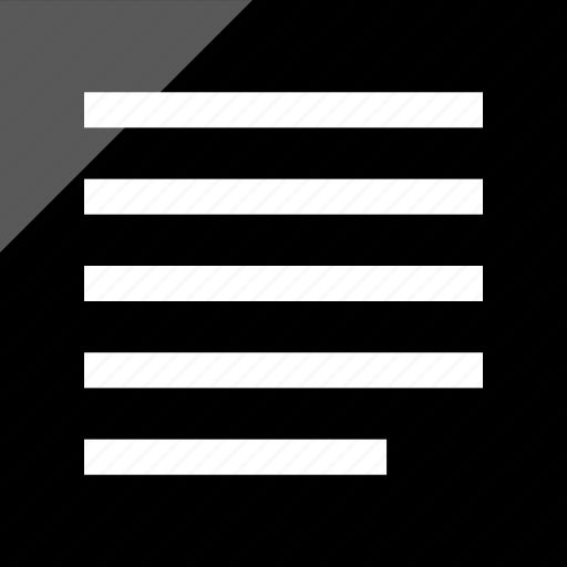 align, left, shift, text icon