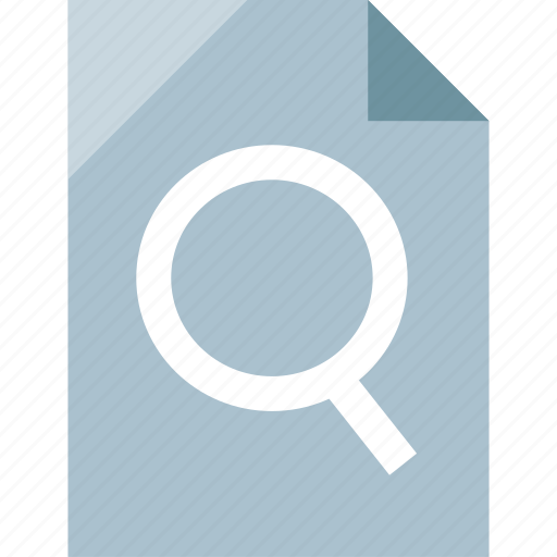 file, page, search, searching icon