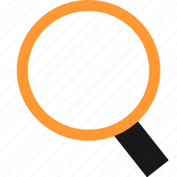 find, look, magnifyer, search icon