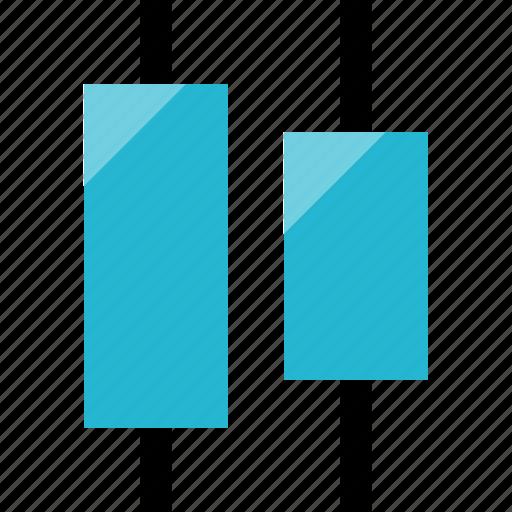 align, center, layer icon