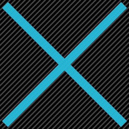 cross, stop, x icon