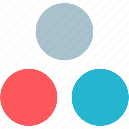 colors, combination, dots icon