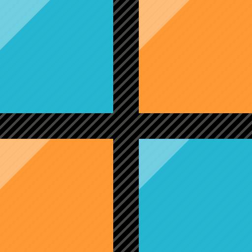 boxex, grid, shapes, window icon