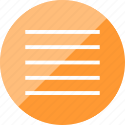 align, center, expand, text icon