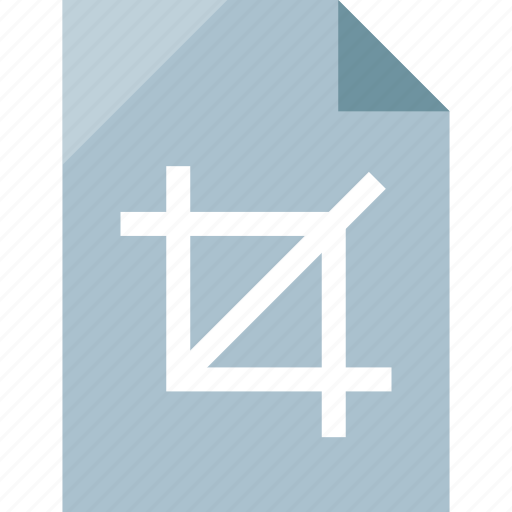 crop, file, page, paper icon