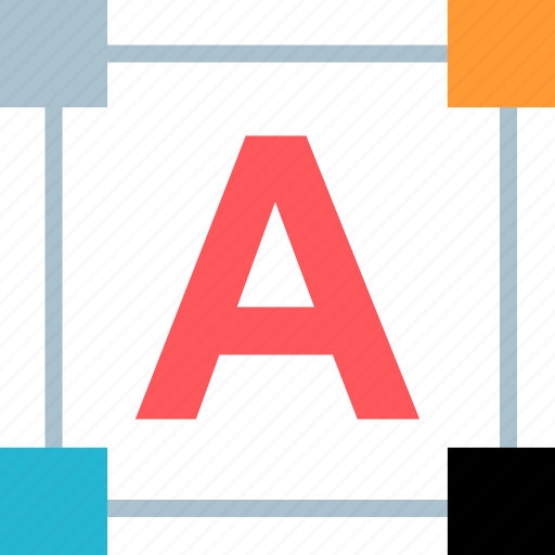 edit, letter, lettering, text icon