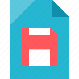 disk, file, save, space icon