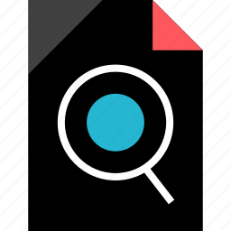 file, find, search, text icon