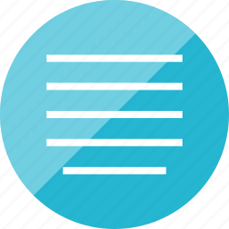 align, editor, text icon