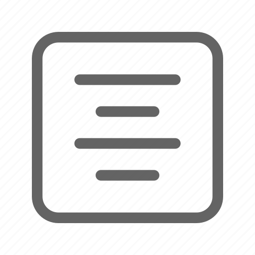 align, alignment, center, paragraph icon