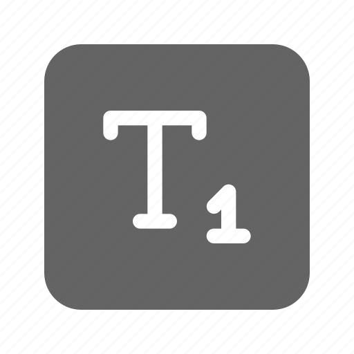 letter, subscript, text, type icon