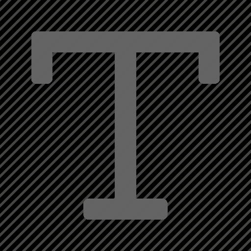 font, text, type, typography icon