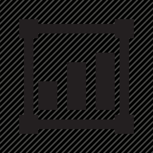 chart, data, insert icon