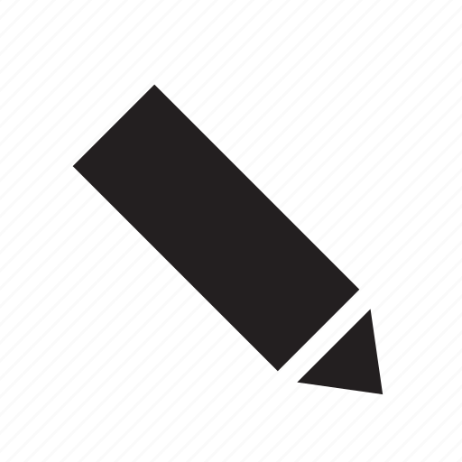 edit, pen, text icon
