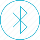 bluetooth, data, share icon