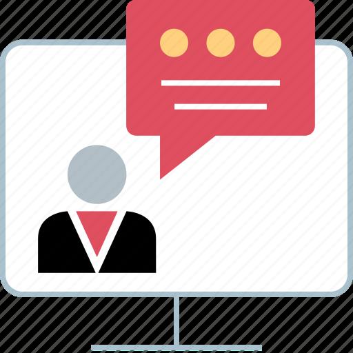 chat, conversation, talking icon