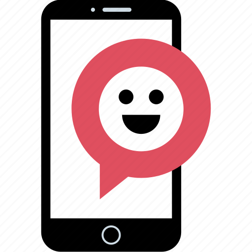chat, person, smile, user icon