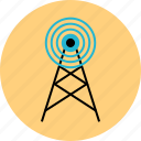 cell, connection, phone, tower icon