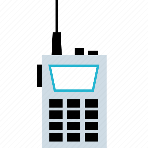 device, radio, tech icon