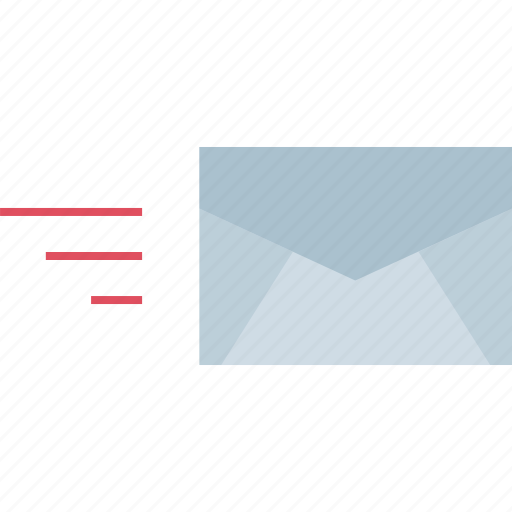 email, fast, message icon