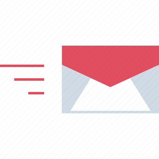 email, fast, mail, message icon