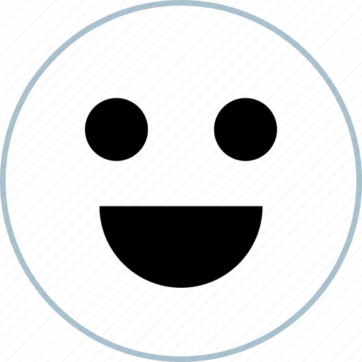 face, happy, smile icon
