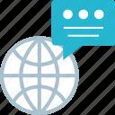 chat, internet, web icon