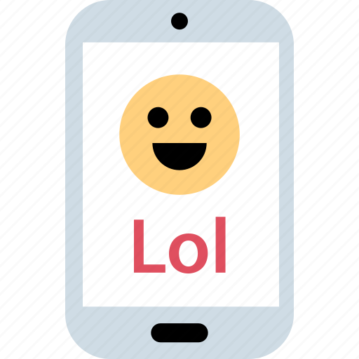 laugh, lol, loud, out icon