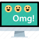 computer, omg, pc icon