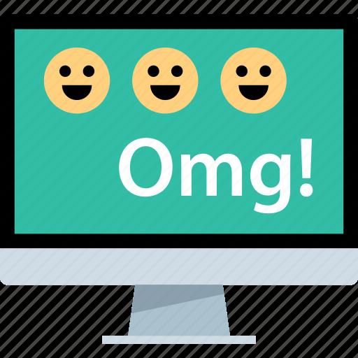 computer, omg, pc icon