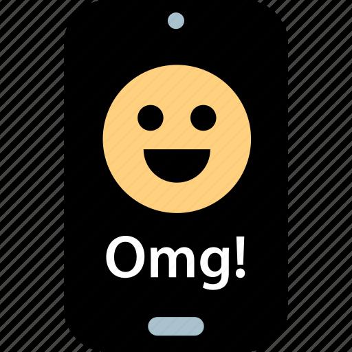 face, happy, omg icon