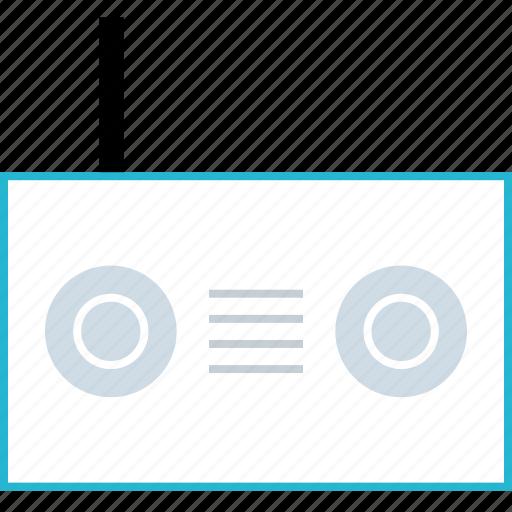 antenna, connection, radio icon