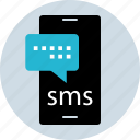 chat, phone, sms, talk icon