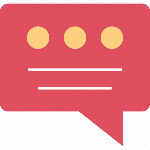 sms, talk, talking icon