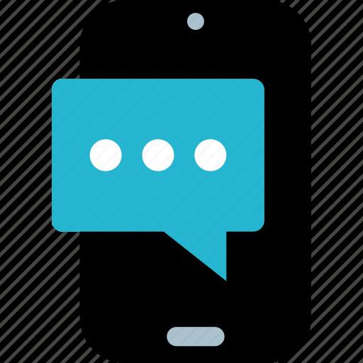 chat, phone, talk icon