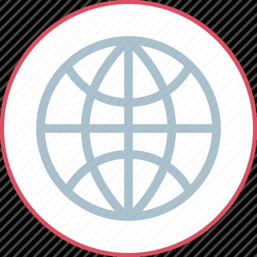 web, wide, world icon