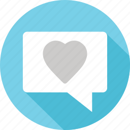 heart, love, message, messaging, sexting, text, valentines icon