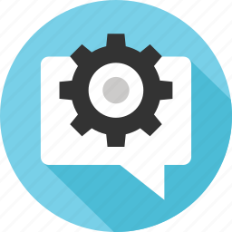 message, messaging, option, settings, setup, text icon
