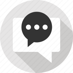 chat, conversation, message, messages, messaging, text, two icon