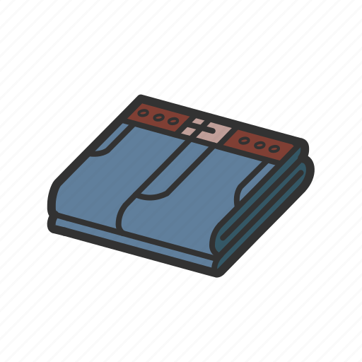 cloth, clothing, isometric, jeans, lightblue, pantalon, pants icon