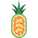 cuisine, food, fried rice, gourmet, pineapple fried rice, thai, tropical icon