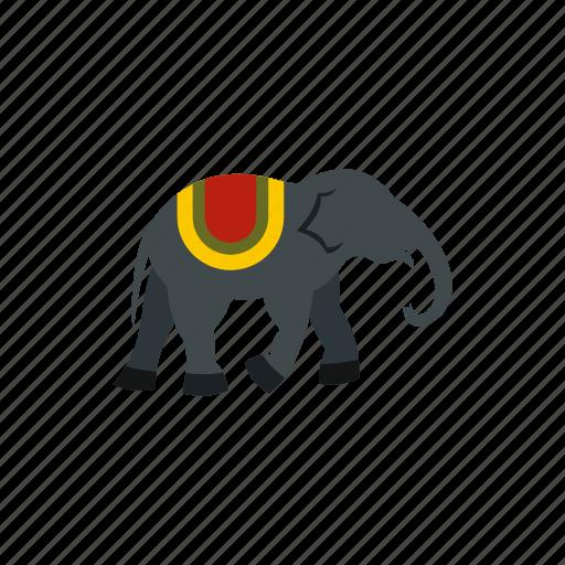 african, animal, elephant, mammal, nature, trunk, wildlife icon