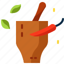 chili, food, sauce, thailand icon