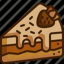 cake, dessert, food, sweet, pop, baker, slice, bakery, fast