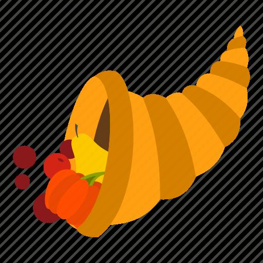 autumn, basket, blog, cornucopia, harvest, pumpkin, thanksgiving icon