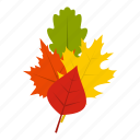 blog, fall, leaves, maple, nature, october, season icon