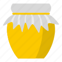 blog, food, fresh, glass, honey, jar, sweet icon