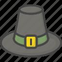 colored, hat, holidays, pilgrim, thanksgiving